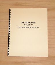 Remington Field Service Manual Nylon 77 Gunsmith - #1