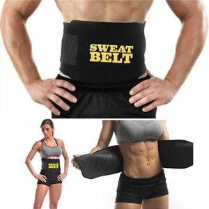 Sweet Sweat Belt Men Women Tummy Waist Sports Trainer Body Shaper Slim Band Wrap