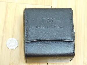 VINTAGE COLLECTIBLE IWC Schaffhausen DISPLAY POUCH BOX SET