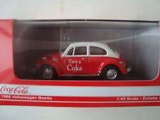 MOTOR CITY 1/43 VOLKSWAGEN Beetle - Coca Cola 1967 440030 NEW
