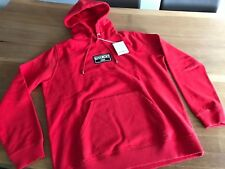 Givenchy Paris Box Logo Patch Hoodie Distressed Red / Rot Gr. L - NEU 100%