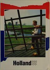 Affiche Tourisme HOLLAND - 60 x 84 cm