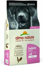 More details for almo nature puppy food holistic large with chicken & rice ( best before mar-21 )