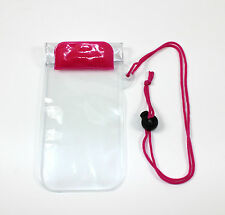 Waterproof Phone Pouch iPhone Samsung iPod Etc Sports Holiday Beach Protector Pink
