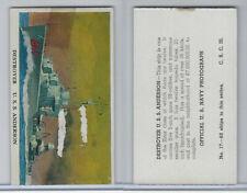 R169 Cameron Sales, Warships, 1942, #17 Destroyer, U.S.S. Anderson