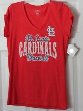 St. Louis Logo Glittered Women's T-Shirt Size L