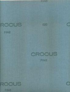 """Crocus Cloth Needle Sharpening Pad Super Fine Sandpaper 3""""x9"""""""