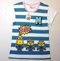 DESPICABLE ME Minions Women's Pyjama Top T-shirt  Primark  Size:UK 6-20