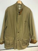 Orvis Jacket 48r Vintage Hunting Fishing Outdoor Cotton Tan Mens