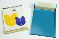 Vintage Carl Memo 1970 awesome Office notebook old Paper Tin Plastic Japan made