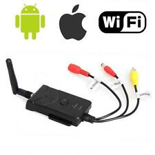 Wifi FPV Wireless P2P Car Reverse Video Camera Transmitter for Iphone Android BA