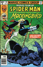 Marvel Team-Up #95 (1980) 1st Mockingbird - No stock images