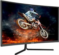 2 VIOTEK GN32Q – 32 Inch WQHD 144 Hz Curved Computer Monitor – 2560x1440p, FPS/R