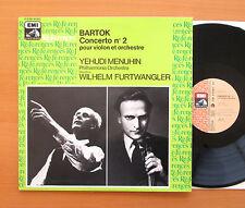 Bartok Violin Concerto 2 Yehudi Menuhin Furtwangler EMI Reference 2C 051-01322