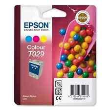 GENUINE EPSON colour t029 c13t029401 t029401 Stylus c60 2 Year GTEE presque Postage