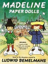 LIKE NEW UNCUT Madeline Paper Dolls by Jody Wheeler Ludwig Bemelmans Unused 1994