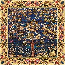 Tree of Life Art Tile Mural Decorative Back Splash Ceramic Custom Design Sizes