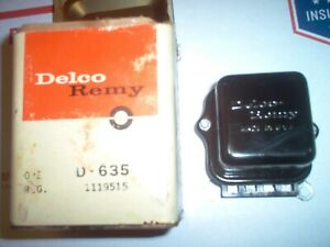 NOS 1969 1119515 9C Delco Voltage Regulator Corvette Camaro Chevelle GTO
