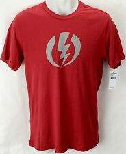 NEW Electric Standard Volt Red Mens Large Snow Skate Cotton Tee Shirt Msrp$22