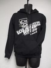 New Los Angeles Kings NHL Mens Size S Small Adidas Black Hoodie