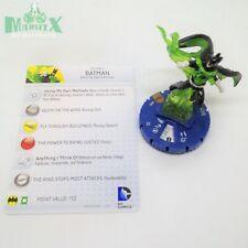 Heroclix Batman set Batman (Green Lantern) #058 Chase figure w/card!
