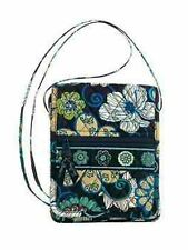 NEW Vera Bradley Mini Hipster Mod Floral Blue Purse Bag Cross Body
