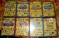 les sims 2 Kit Jeu Sur PC, lot de 8 cd