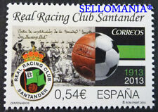 2014 CENTENARIO REAL RACING CLUB DE SANTANDER EDIFIL 4854 ** MNH         TC20593
