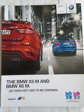 BMW X5M & X6M brochure 2011 ed 1