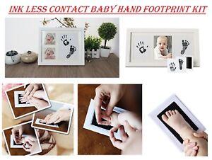 Inkless Wipe Baby Kit Hand Foot Print Keepsake Newborn Kids Footprint Handprint