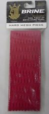 NEW Lot of 2 Brine Lacrosse Hard Mesh Piece Red (G1-33)