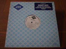"SKINNY BOYS Mystery Cant Get Enough Promo VINYL 12"" Single 1989 HIP HOP Record"