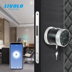 Livolo Electronic Smart Door Lock Fingerprint Password Security Door Lock Touch