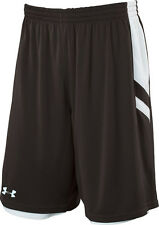 New UNDER ARMOUR Undeniable Reversible Basketball Shorts men XL Black White