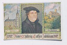 29100 AK 400jähriges Luther-Jubiläum 1917 Schlosskirche Wittenberg u. Wartburg