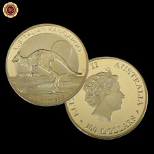 2016 Australia ELIZABETH II 100 Dollars Coin Australian Kangaroo 1 OZ 9999 Gold
