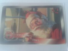 Coca-Cola - 1996 - Sprint Phone Card 16 - Santa at the Window