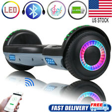 Bluetooth Hoverboard Self-Balancing Electric Scooter No Bag Skateboard for Kids