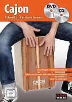 CASCHA HH 1701 DE Cajon Schnell und einfach lernen