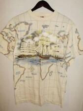Art Unlimited Sportswear Mens Size Small Short Sleeve Nautical Global Routes Tee