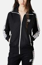 ADIDAS ORIGINALS x TOPSHOP BLACK TREFOIL FIREBIRD TRACK JACKET S *SOLD OUT