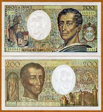 France, 200 francs, 1992, P-155 (155e), UNC