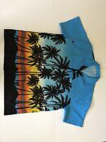 High Seas Resortwear Bahamas Men's SHIRT SIZE XXL BLUE ORANGE YELLOW