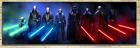 Star Wars Jedi Masters Panorama Canvas HD Art Fast Free Shipping, Vader Yoda