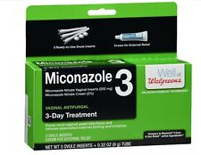 Miconazole Vaginal Antifungal 3-Day Ovule And Cream Compare to Monistat 3