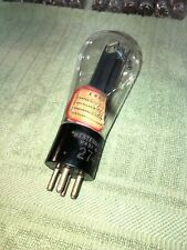 early 274A  Western Electric Globe Etched Base Tube Rectifier ~TV-7 & Amp Tested