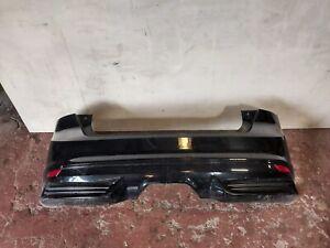 FORD FOCUS MK3 ST REAR BUMPER COMPLETE  BLACK 2014