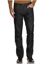 s.Oliver Herren Regular Slim Fit Jeans Indigo Raw Denim   Tube 59Y5  W30 / W31