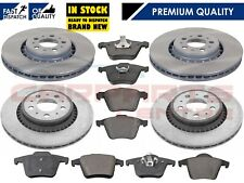 FOR VOLVO XC90 2.4 D5 2.5 2002- FRONT & REAR BRAKE DISC DISCS BRAKE PADS SET