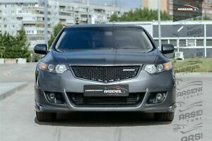 Front Grill HoneyComp mesh [ABS plastic] Honda Accord 8 / Acura TSX CU2 CW2 2008